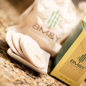 Box and Bag Bamboo Cotton Pads