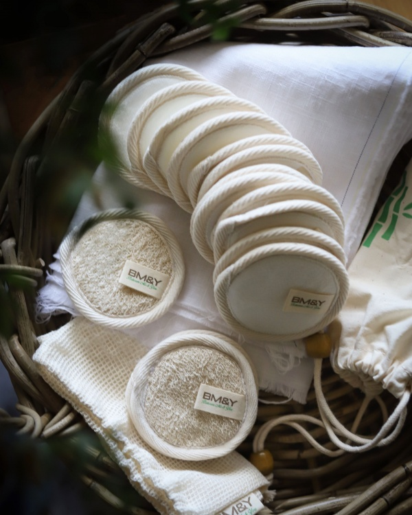 Reusable cotton Bamboo Pads