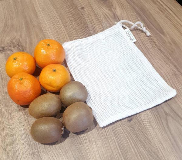 Reusable cotton storage bag