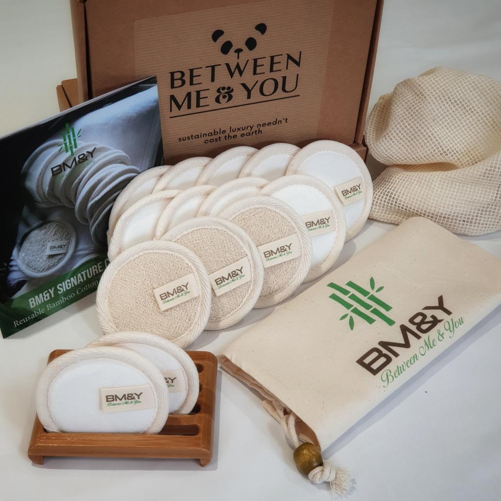 Reusable cotton Bamboo Pads
