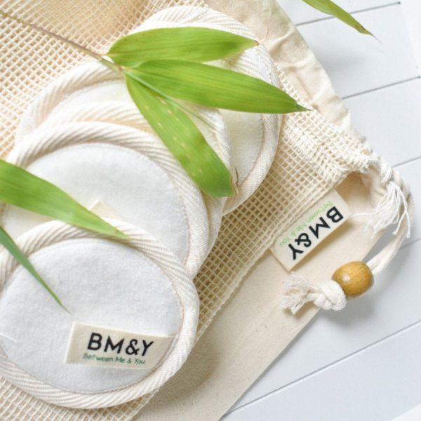 Super soft reusable makeup remover pads